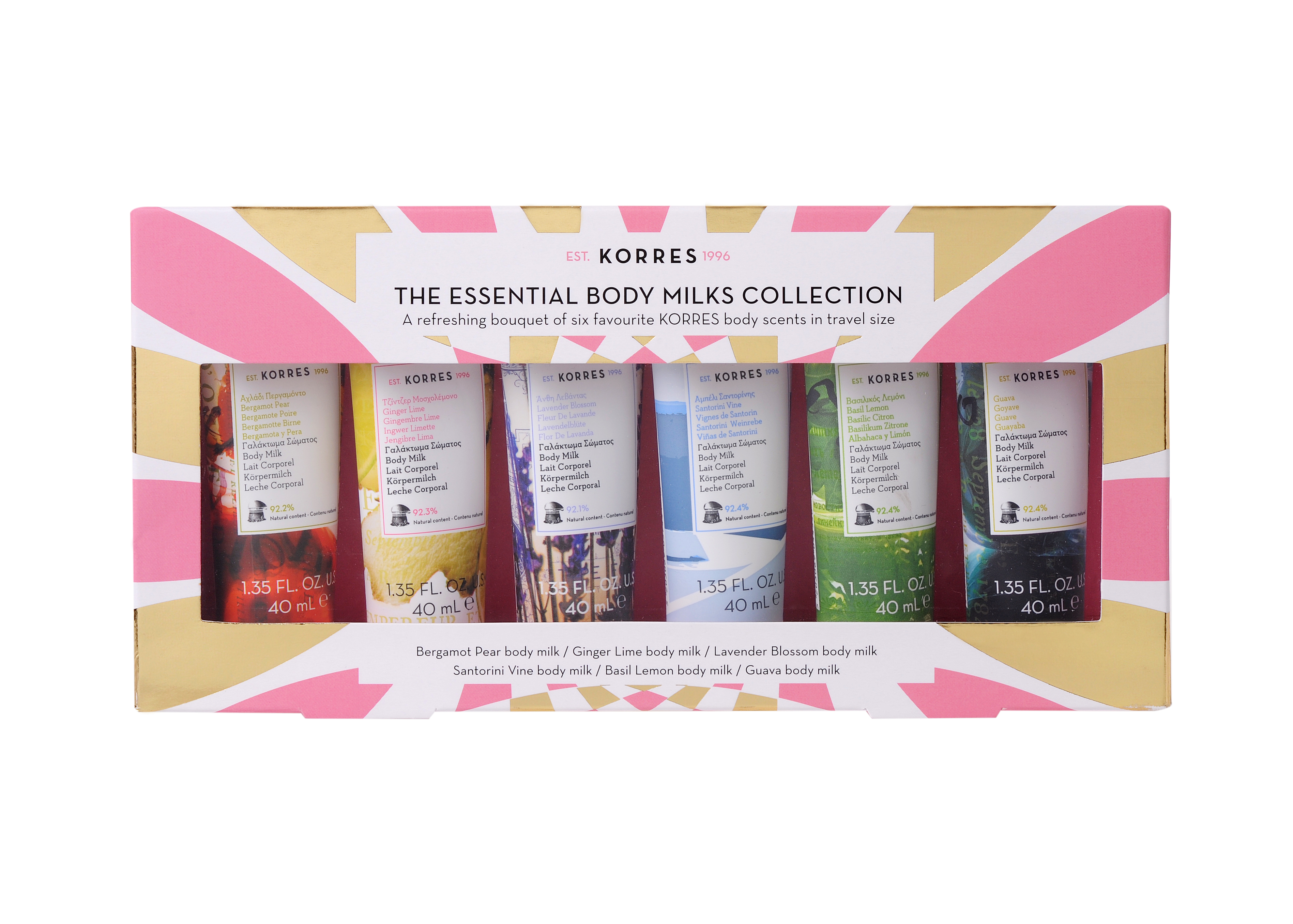 Korres The Essential Body Milks Collection